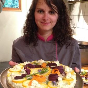 Chef cuisinier veggie Hélène